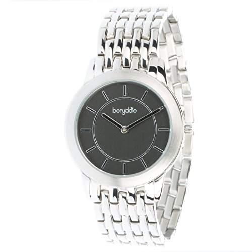 Berydale Damen Armbanduhr mit Metall-Gliederband und Quarzwerk, BD702-2
