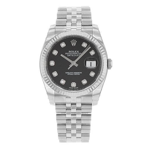 Rolex Armband Datejust Jubilee Diamant Jubilee Silber Geriffelt Herren Weiss Luenette Uhr Zifferblatt Gold 18k