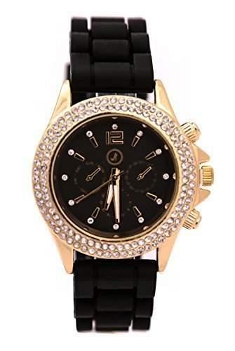 Armbanduhr Uhr Damen Strass gold Larry Lamano NEU & OVP gold LL-100-06