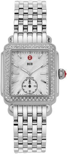 Michele Deco 16 Diamant Damen Armbanduhr MWW06 V000001 Armbanduhr Armbanduhr