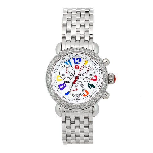 Michele Damen MWW03M000076 Carousel CSX Day 108 Diamond Watch