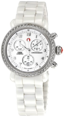 Michele Damen MWW03N000001 CSX Ceramic Chronograph