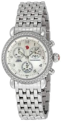 MICHELE CSX 36 WOMENS STAINLESS STEEL CASE CHRONOGRAPH DATE UHR MWW03C000013