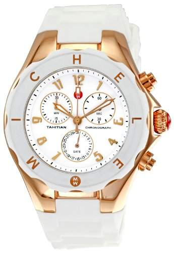 MICHELE TAHITIAN WOMENS STAINLESS STEEL CASE CHRONOGRAPH UHR MWW12F000008