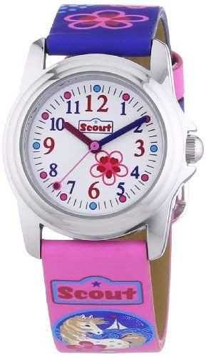 Scout Maedchen-Armbanduhr Analog Quarz Plastik 280301010
