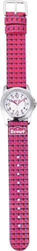 Scout Maedchen-Armbanduhr Analog Quarz Plastik 280301014