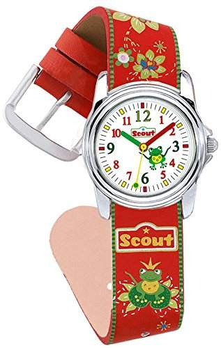 Scout Maedchen-Armbanduhr Analog Quarz Plastik 280301017