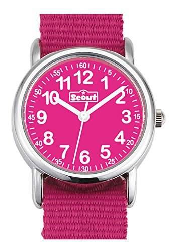 Scout Maedchen-Armbanduhr Analog Quarz Textil 280304001