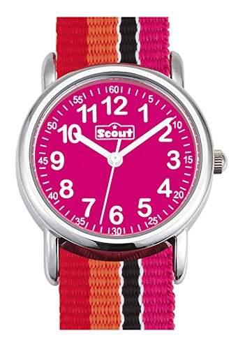 Scout Maedchen-Armbanduhr Analog Quarz Textil 280304003