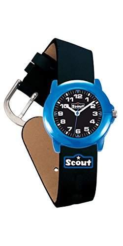 Scout Jungen-Armbanduhr Analog Quarz Kunstleder 280305002