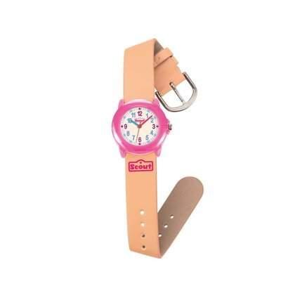 Scout Maedchen-Armbanduhr Analog Quarz Kunstleder 280305004