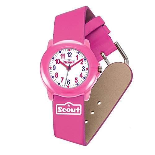 Scout Maedchen-Armbanduhr Analog Quarz Kunstleder 280305005