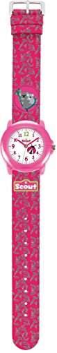 Scout Maedchen-Armbanduhr Analog Quarz Plastik 280305009