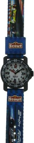 Scout Jungen-Armbanduhr Analog Textil 280376023