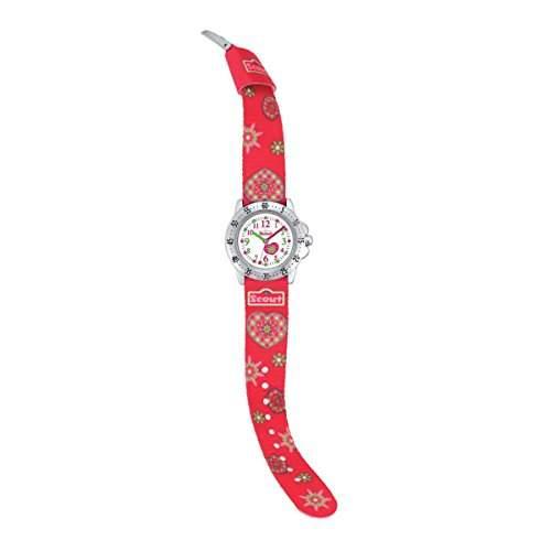 Scout Maedchen-Armbanduhr Analog Quarz Textil 280378000