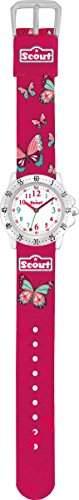 Scout Maedchen-Armbanduhr Analog Quarz Textil 280378003