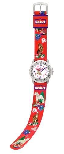 Scout Kinder-Armbanduhr Action Girls Analog Quarz 280378049
