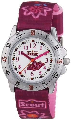 Scout Maedchen-Armbanduhr Analog Quarz Textil 280378064