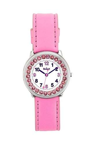 Scout Maedchen-Armbanduhr Analog Quarz Plastik 280381003