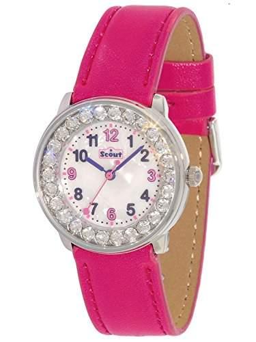 Scout Maedchen-Armbanduhr Analog Quarz Plastik 280381004