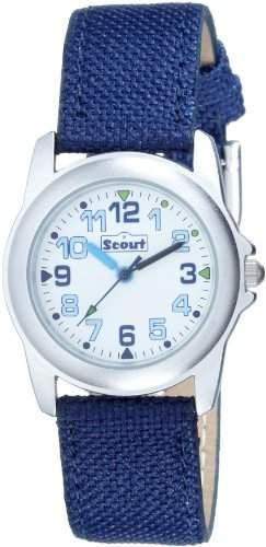 Scout Jungen-Armbanduhr Analog Textil 280391001