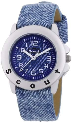 Scout Jungen-Armbanduhr Analog Quarz Plastik 280393024