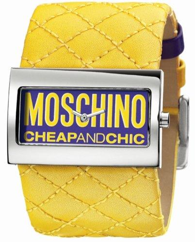 MOSCHINO TIME FOR FASHION 2H PURPLE YELLOW STR MW0015