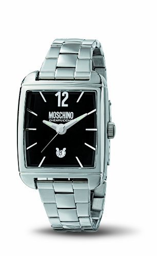 MOSCHINO WATCH TIME FOR GENTLEMAN 3H MAN BRC BLACK DIAL MW0106