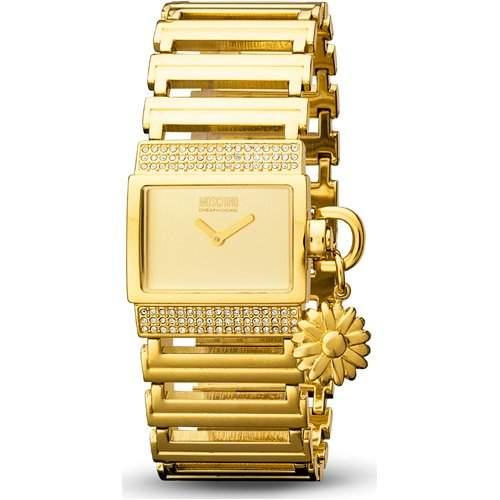 MOSCHINO-Damen-Armbanduhr MY NAME IS DAISY 2H BRC IP GOLD MW0073