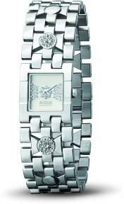 MOSCHINO WATCH TIME FOR RIBBON 2H LADY SS BRC SILVER DIAL MW0090