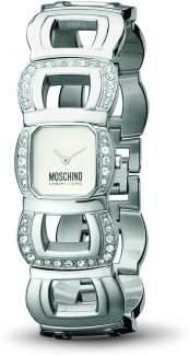 MOSCHINO-Damen-Armbanduhr LETS BE PRECIOUS 2H SS BRC SILVER DI MW0091