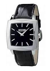 MOSCHINO WATCH TIME FOR BLOOM 2H MAN SS BLACK DIAL BLACK MW0108