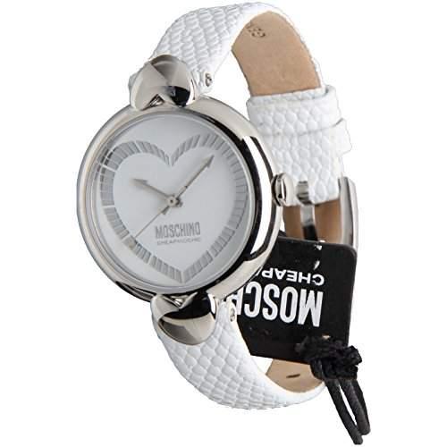 Moschino Damen Fancy Heart Dress Analog Casual Quartz Reloj MW0161