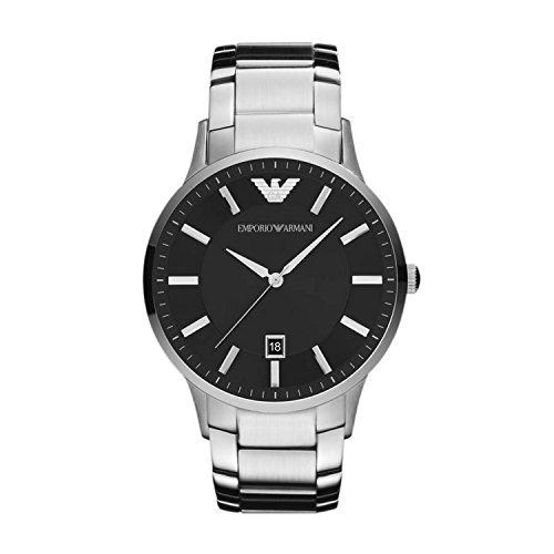 Emporio Armani schwarz silber AR2457