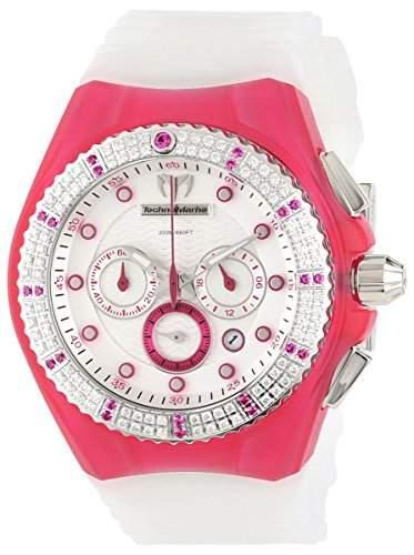 Technomarine Cruise Beach Chronograph Stainless Steel & Diamond Womens Sport Watch 109015
