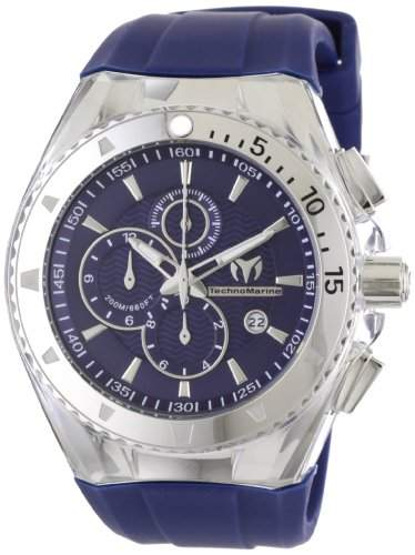 TechnoMarine Herren 111004 Cruise Original-Chronograph Blue Watch