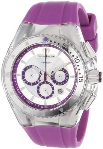 TechnoMarine Damen 111032 Cruise Original-Lipstick Violet Uhr