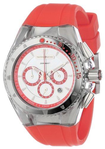 TechnoMarine Damen 111014 Cruise Original Lippenstift Coral Uhr