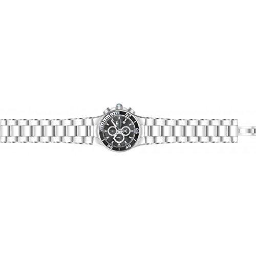 TechnoMarine Manta 44mm Armband Edelstahl Gehaeuse Batterie Zifferblatt Kohle TM 215043