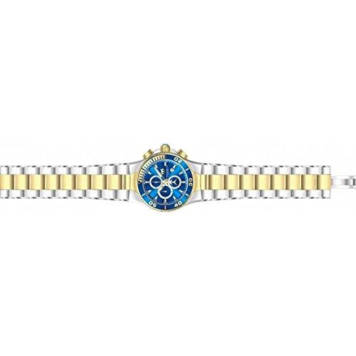 Technomarine Manta 44mm Armband Edelstahl Gehaeuse Quarz Zifferblatt Blau TM 215047