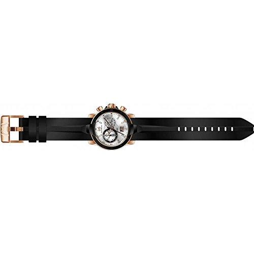 TechnoMarine UF6 45mm Armband Silikon Schwarz Gehaeuse Edelstahl Batterie TM 615011