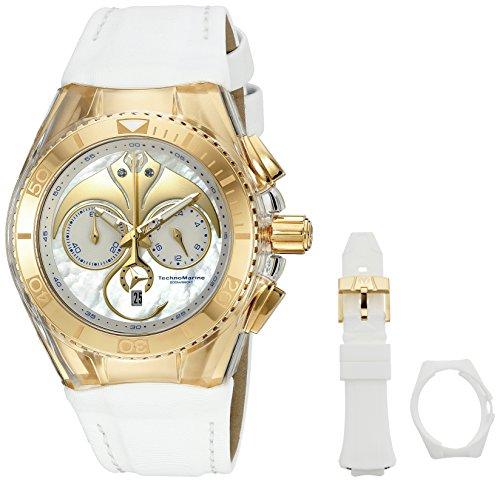 TechnoMarine Unisex Armbanduhr Chronograph Quarz TM 115004