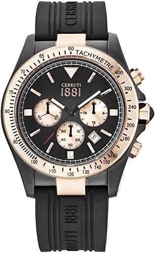 Cerruti 1881 Armbanduhr CRA084D224G NEGRA