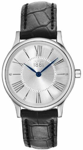 Cerruti 1881 Armbanduhr CRM099A212A PLATEADO