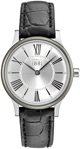 Cerruti 1881 Armbanduhr CRM099W212A PLATEADO