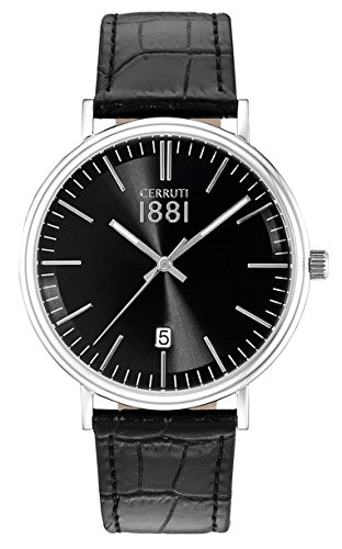 Cerruti 1881 Quarzuhr Man CRA111SN02BK 41 0 mm