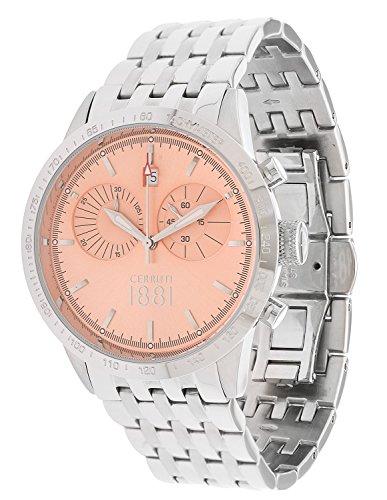 Cerruti Herren Armbanduhr Silber CRA096A241G