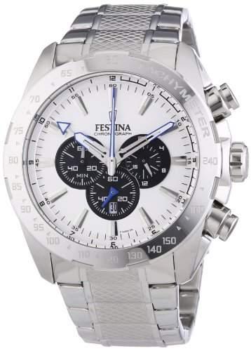 Festina Herren-Armbanduhr XL Sport Chronograph Chronograph Quarz Edelstahl F164886