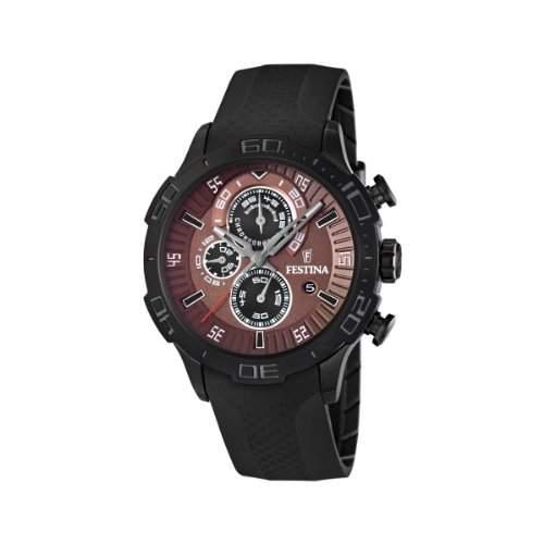 Festina Herren-Armbanduhr XL La Vuelta Chronograph Nylon F165672