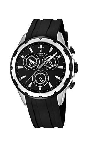 Festina Herren-Armbanduhr Chronograph Quarz Plastik F168382